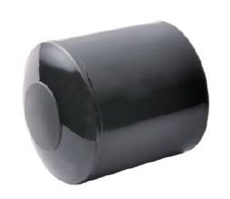 มือจับประตูห้องน้ำ พีวีซีสีดำ
