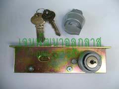กุญแจบานสวิง Alpha สีอลูมิเนียม (Aluminium Color)