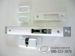 กุญแจคอม้าเล็ก HOYA รุ่นขอบิดสีอบขาว
