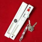 มือจับล็อค AAA และกุญแจ AAA สีอบขาว