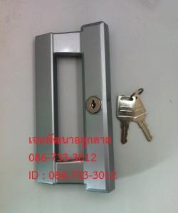 มือจับกุญแจ แบบลอย สีอลูมิเนนียม RUNNER-2