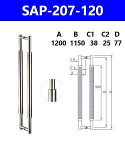 SAP-207-120 คราวหน้าสั่ง แบบนี้ เปลี่ยนเฉพาะดี 55 แกนยึดกระจก 32 ดีกว่า