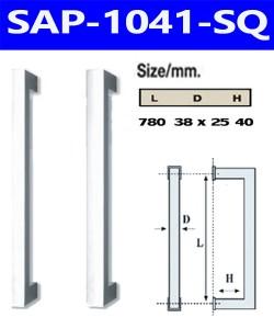 มือจับสเตนเลส sap-1041-SQ